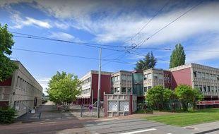 Le lycée Le Corbusier, à Illkirch-Graffenstaden.