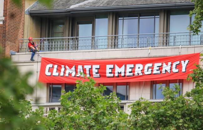 Londres: Dix militants de Greenpeace arrêtés lors d'une action contre le siège du groupe pétrolier BP