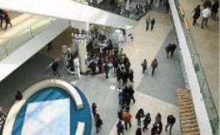 Le centre commercial a enregistré 2,5millions de visiteurs.