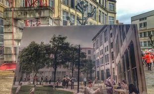 L'ancien collège Truffaut de Lyon, vidé depuis 2013, va reprendre vie sous une nouvelle forme.