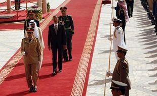 Barack Obama avec le roi Abdallah à Ryad en Arabie Saoudite le 3 juin 2009.