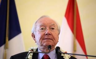 Gaston Flosse en juin 2013