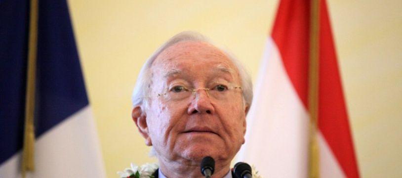 Gaston Flosse en juin 2013.