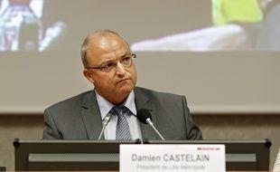Le président de la Métropole de Lille, Damien Castelain