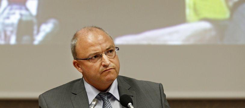 Damien Castelain, président de la Métropole européenne de Lille.