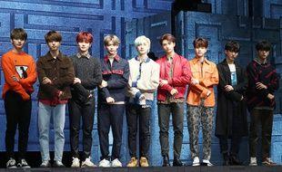 Le groupe de K-Pop Stray Kids.