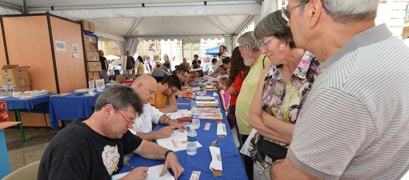 Le festival du livre de Nice, lors d'une précédente édition.