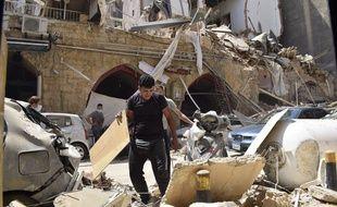 L'explosion survenue dans le port de Beyrouth a fait plus de 6.000 blessés.