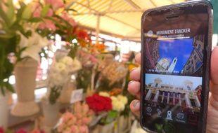 L'appli cannoise Monument tracker conseille, entre autres, de passer par le cours Saleya de Nice.