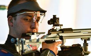 Alexis Raynaud jouera la médaille en finale de tir à la carabine 50m 3 positions