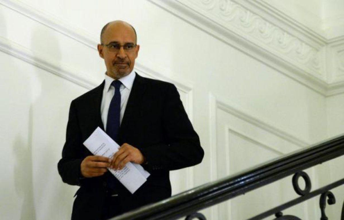 Harlem Désir, nouveau secrétaire d'Etat aux Affaires européennes, le 30 mars 2014 à Paris – Pierre Andrieu AFP