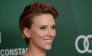 Scarlett Johansson a inauguré sa boutique de pop-corn à Paris