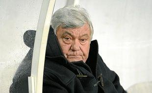 Louis Nicollin est à la tête du club de foot de Montpellier depuis 1974.