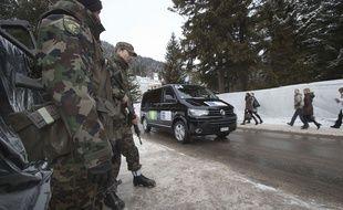 Des soldats suisses à Davos en 2013 (illustration).