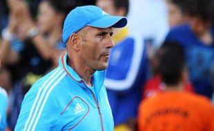 L'entraîneur de l'OM, Elie Baup, le 2 septembre 2012 à Marseille.