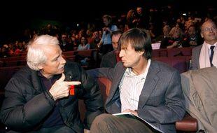 Yann Arthus Bertrand et Nicolas Hulot, en 2007.