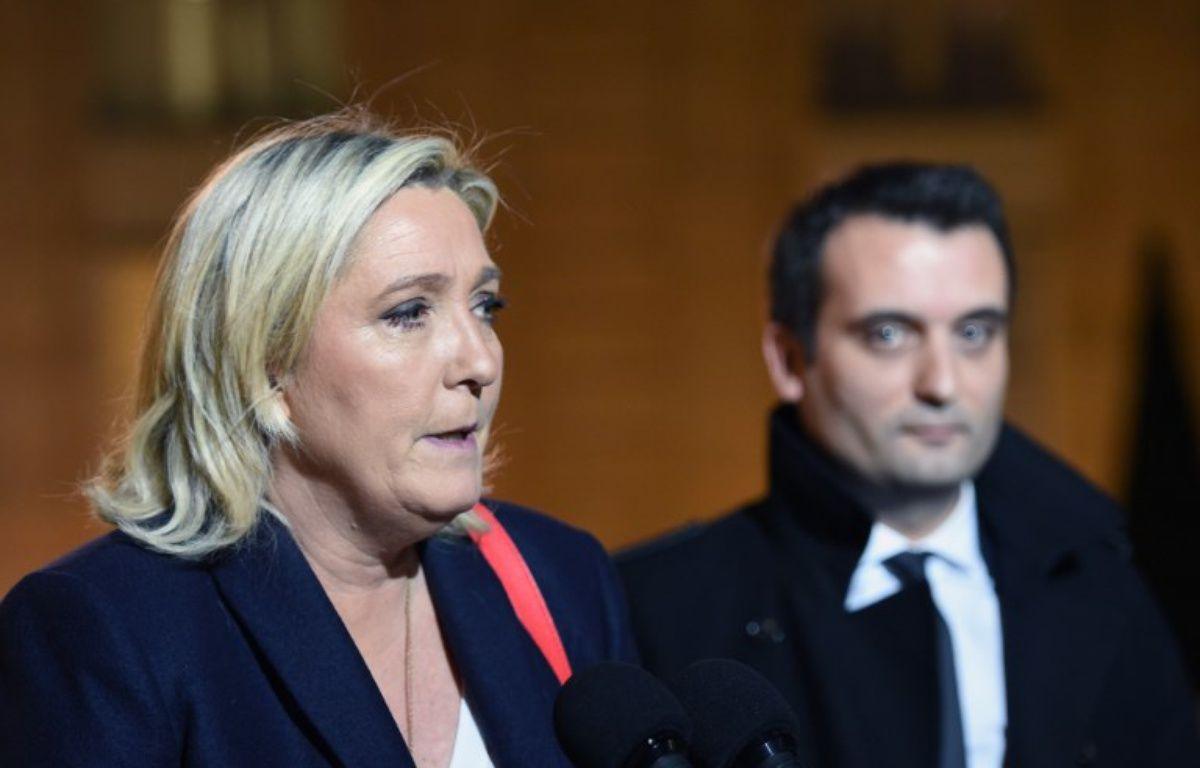 Marine Le Pen et Florian Philippot en 2015 – STEPHANE DE SAKUTIN / AFP