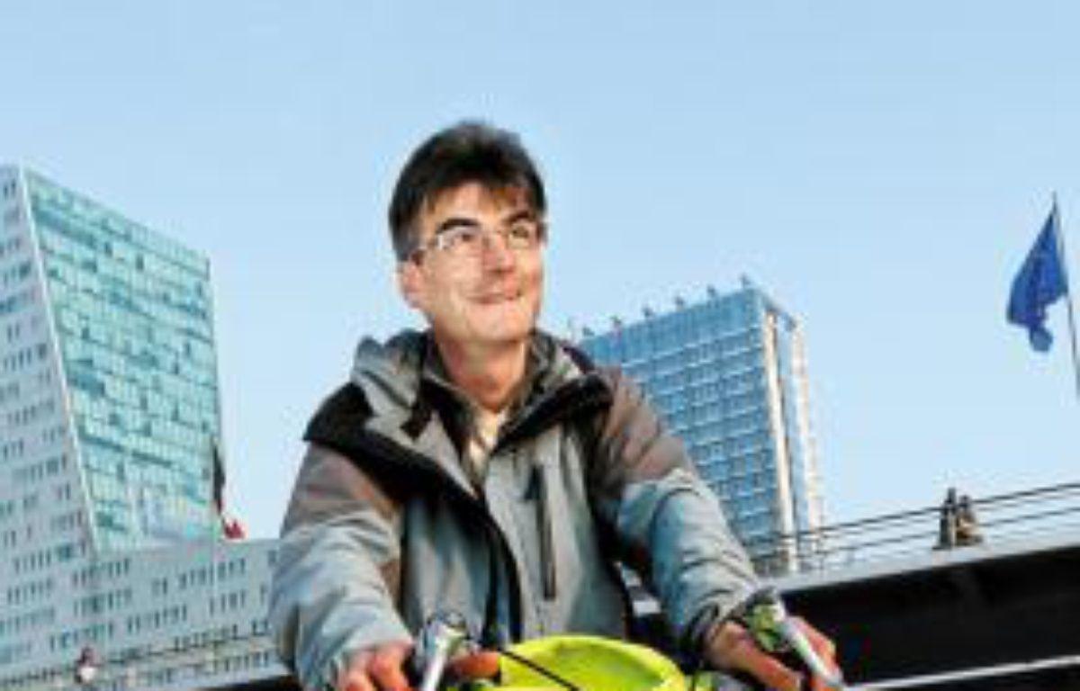Philippe Fauvarque fait près de 150 kilomètres par semaine pour le boulot. –  M. Libert / 20 Minutes