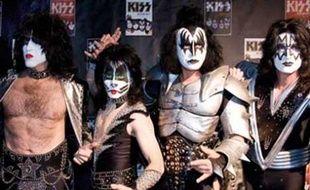 Le groupe de rock Kiss.