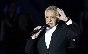 Michel Sardou à Bercy, le 12 décembre 2012.