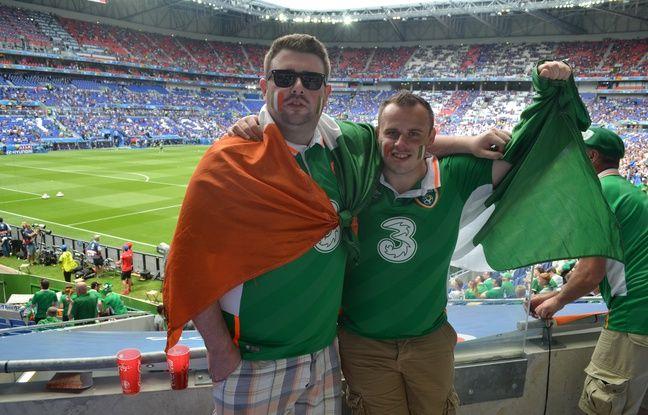 Ross Thompson et Shane Gill n'ont pas hésité un faire un retour express en Irlande avant de rejoindre Lyon pour ce 8e de finale de l'Euro.