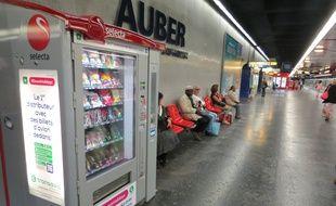 Une femme a accouché dans le RER.