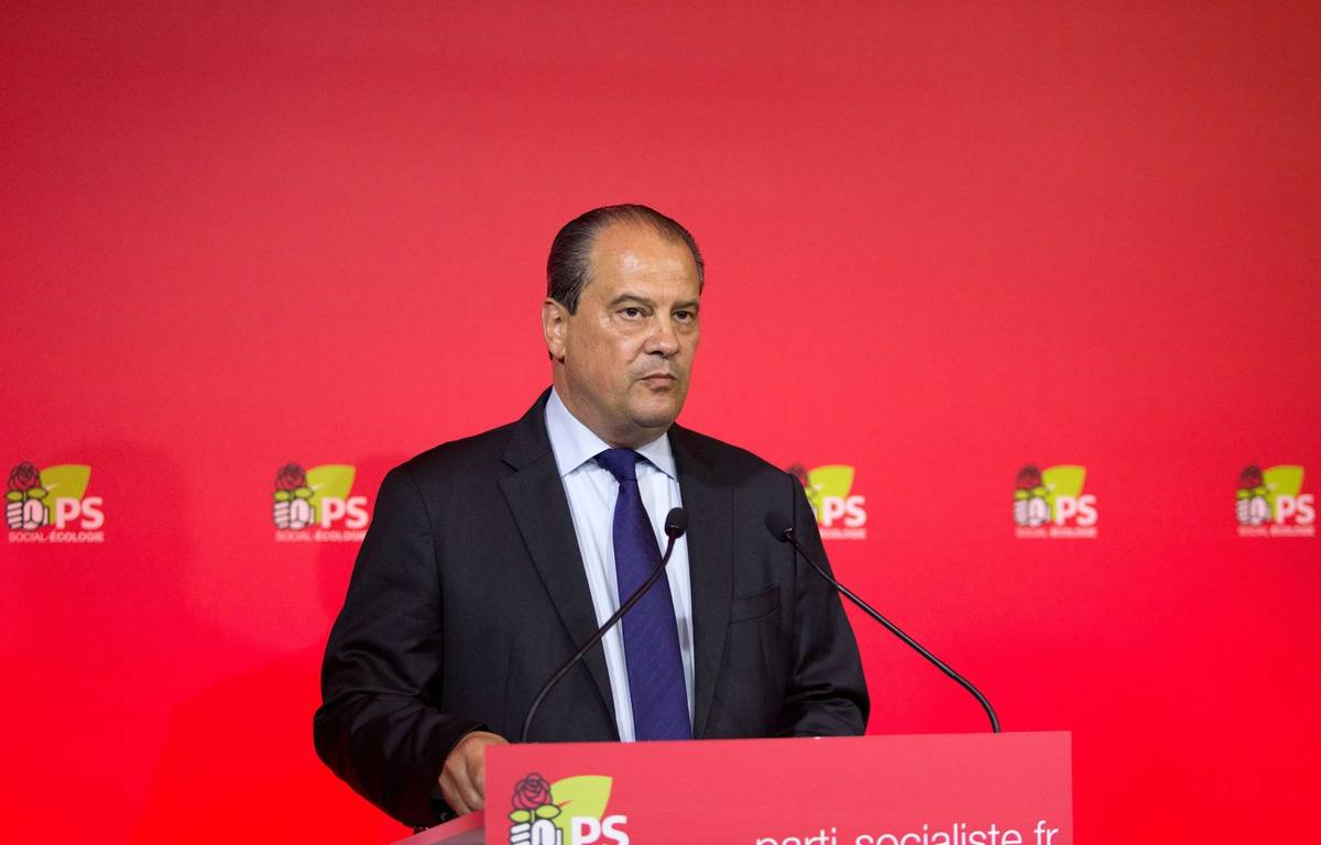 Jean-Christophe Cambadélis, Premier secrétaire du PS démissionnaire, le 18 juin 2017 à Paris – YANN BOHAC/SIPA