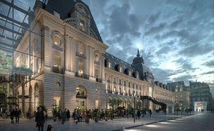 Le futur Palais du commerce deviendra un centre commercial avec une vingtaine d'enseignes à l'horizon 2025.