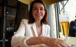 Christelle Morançais savoure sa réélection à la tête de la région Pays-de-la-Loire, le 27 juin 2021.