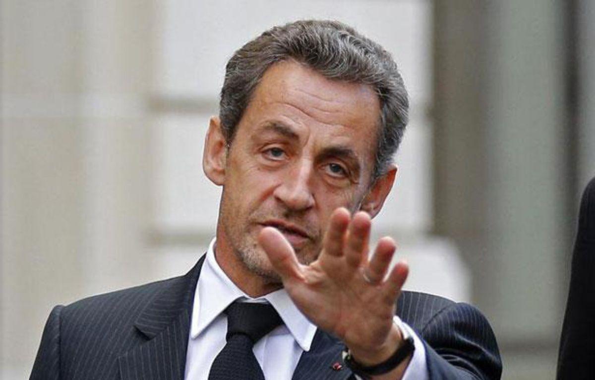 Nicolas Sarkozy, le 26 novembre 2012 – Benoit Tessier/Reuters