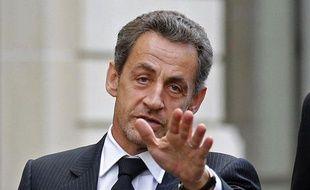 Nicolas Sarkozy, le 26 novembre 2012