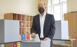 Olaf Scholz, du SPD.