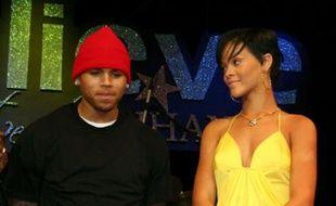 Rihanna et Chris Brown, le 21 février 2008