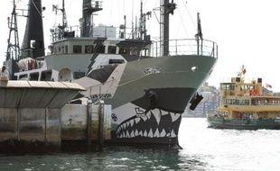 Alors que ses navires traquent les baleiniers japonais en Antarctique, l'organisation Sea Shepherd bat aussi le tambour pour les dauphins massacrés tous les ans dans un petit port de l'ouest du Japon.