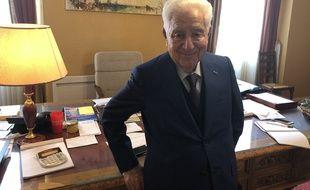 André Trigano, maire depuis 1995 de Pamiers, en Ariège, postule à un cinquième mandat.
