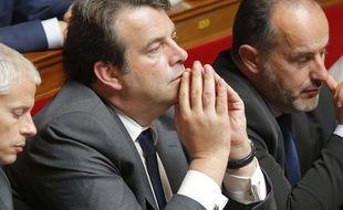 Thierry Solère, député Les Républicains « constructif », à l'Assemblée nationale le  4 juillet 2017.