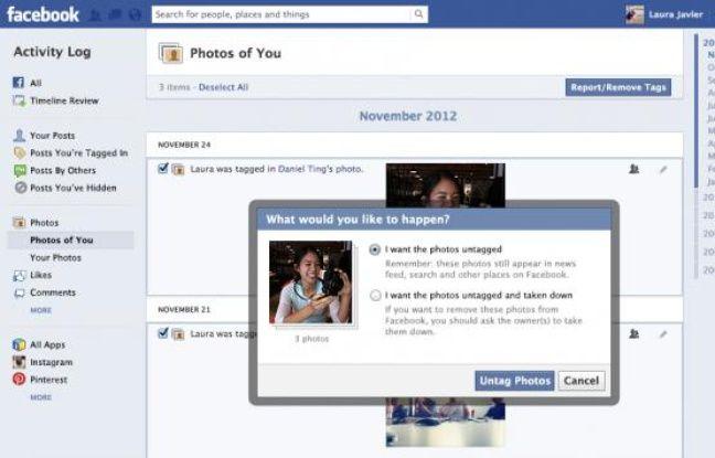 Facebook a modifié son centre de contrôle des données personnelles le 12 décembre 2012.