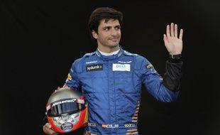 Le jeune pilote Carlos Sainz