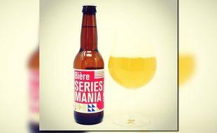 La Séries Mania, une bière spécialement brassée pour le festival éponyme.
