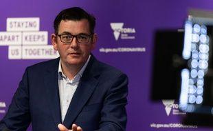 Le premier ministre de l'Etat australien de Victoria, Daniel Andrew (travailliste).