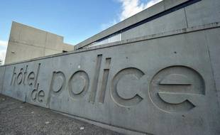 Les locaux parisiens de l'Inspection générale de la police nationale (IGPN).