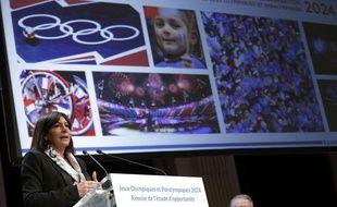 Anne Hidalgo, le 12 février 2015 à Paris.
