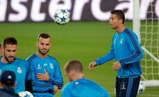 Le joueur du Real Madrid Cristiano Ronaldo le 20 octobre 2015 au Parc des Princes.