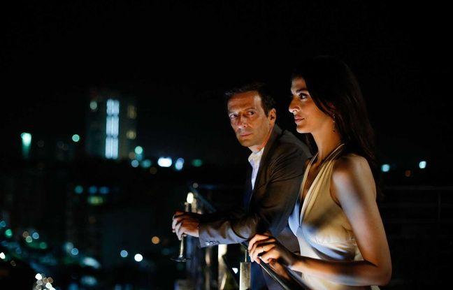 Mathieu Kassovitz (Guillaume Debailly) et Zineb Triki (Nadia El Mansour).