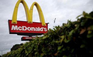 Un drive McDonald's