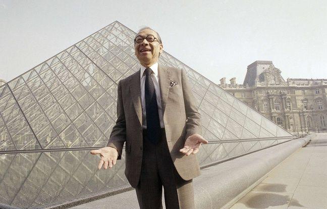 VIDEO. L'architecte de la pyramide du Louvre, Ieoh Ming Pei, est décédé à 102 ans