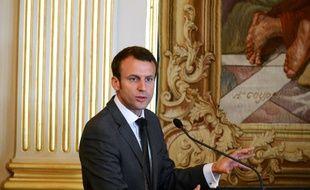 Le ministre de l'Economie Emmanuel Macron, le 11 juillet 2016 à Paris