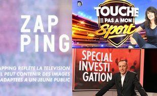 «Le Zapping», «Touche Pas à Mon Sport» et «Spécial Investigation» ont été déprogrammés...