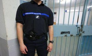 Un agent de l'administration pénitentiaire à la maison d'arrêt de Strasbourg, à l'Elsau. (Illustration).