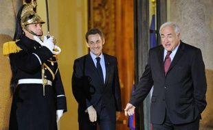 """Le directeur général du Fonds monétaire international (FMI) Dominique Strauss-Kahn a salué mercredi le programme """"ambitieux"""" de la France pour sa présidence du G20, affirmant avoir """"bon espoir"""" de renforcer la stabilité de l'économie mondiale."""